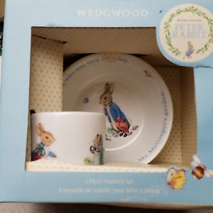 Image Is Loading Wedgewood Beatrix Potter Peter Rabbit Nursery Set Cup