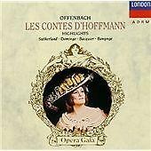 1 of 1 - Offenbach: Les Contes d'Hoffmann [Highlights] (1990)