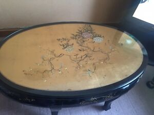 STUNNING ITALIAN MODITAL HANDMADE CHINESE COFFEE GAMES TABLE AND STOOLS - halifax, West Yorkshire, United Kingdom - STUNNING ITALIAN MODITAL HANDMADE CHINESE COFFEE GAMES TABLE AND STOOLS - halifax, West Yorkshire, United Kingdom