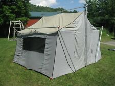 separation shoes 8011b 0798e Vintage Sears Hillary 10' X 13' Canvas Cabin Tent With ...
