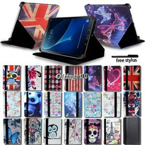 Leather-Stand-Cover-Case-For-Samsung-Galaxy-Tab-3-4-A-A6-7-034-10-1-034-E-9-6-034-S2