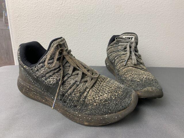 proteger Empuje hacia abajo Distinción  New Nike Lunarepic Low Flyknit 2 Men's Sz 8 Black White Oreo 863779-041 for  sale online