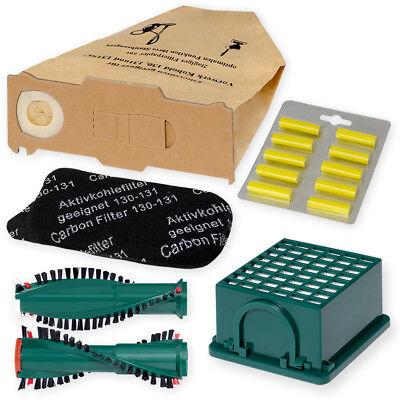 Bürsten geeignet für Vorwerk Kobold 131 und EB 350 4 Filter