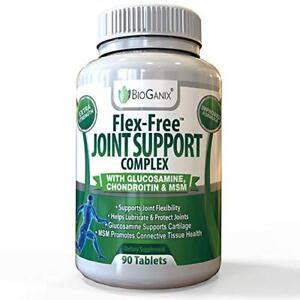 Bioganix-Vitamin-Natural-Clinically-Formula-Joint-Glucosamine-Bones-90-Tablets