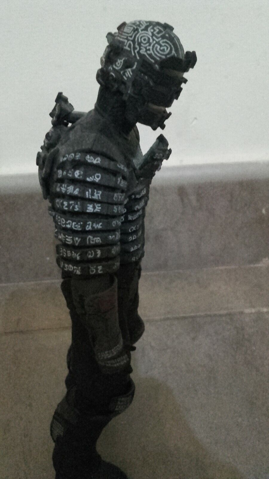 DEAD SPACE Isaac Clarke Unitology Suit SDCC Rare Figura  NECA