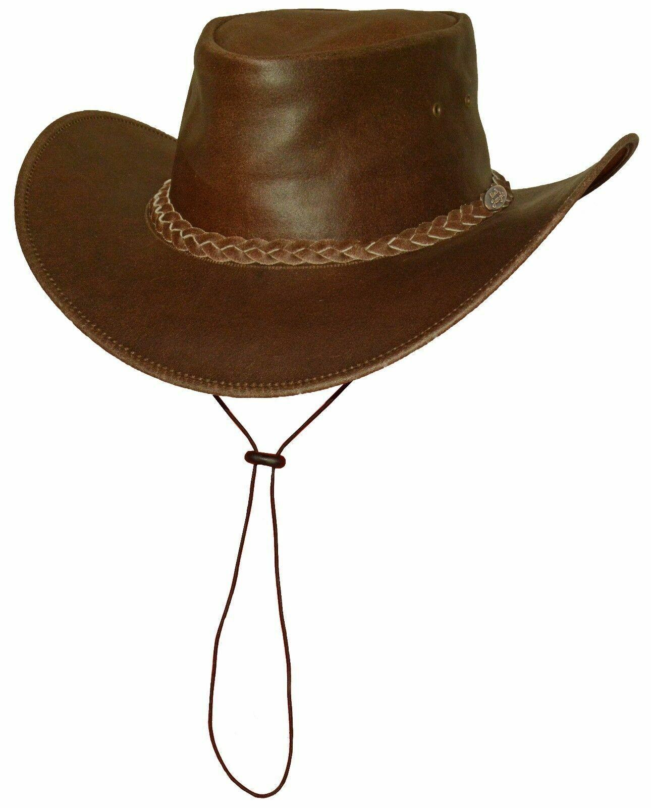 BROOME AUSTRALIA Style Lederhut Hat Western freizeithut Sun Hat Cowboy Hat Brau