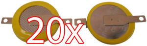 Akkus & Batterien Advance Spiele Extrem Effizient In Der WäRmeerhaltung Heimwerker FäHig 20 X Cr1616 3v Batterie Lötfahnen Knopfzelle Tabs Gameboy Color