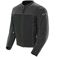 NEW Joe Rocket Velocity Black Water Proof Liner Mesh Motorcycle Jacket LG Large