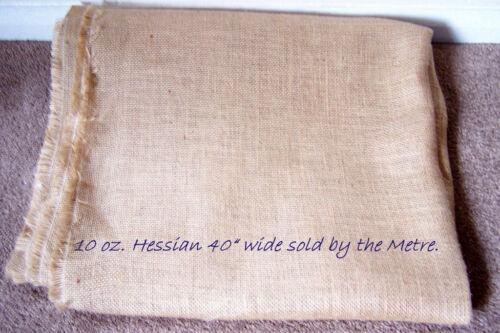 pour le rembourrage. 10 oz Hesse 1 mètre de 40 pouces de largeur