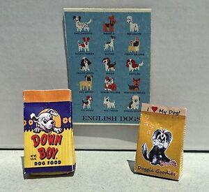 Fine Details About Dollhouse Miniature Dog Food Dog Treats Poster Beutiful Home Inspiration Truamahrainfo