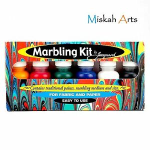 JACQUARD-MARBLING-KIT-FOR-FABRIC-amp-PAPER-NEW-amp-IMPROVED