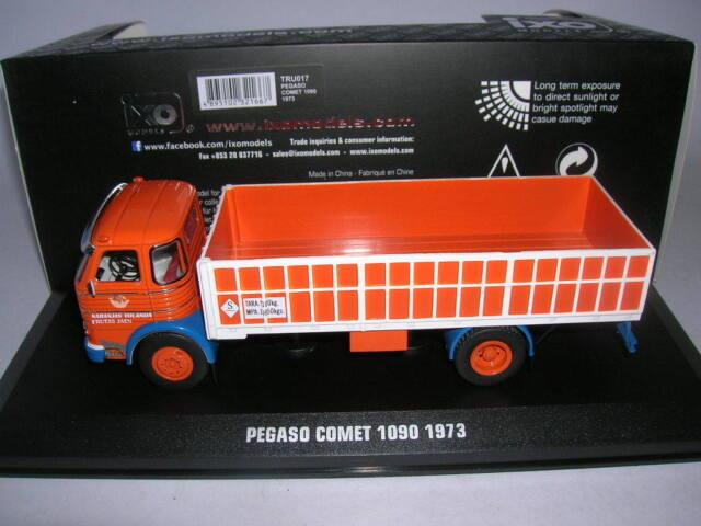 Ixo Pegaso Cometa 1090 Año Fabricación 1973 Camión Transporter Camion,1:43