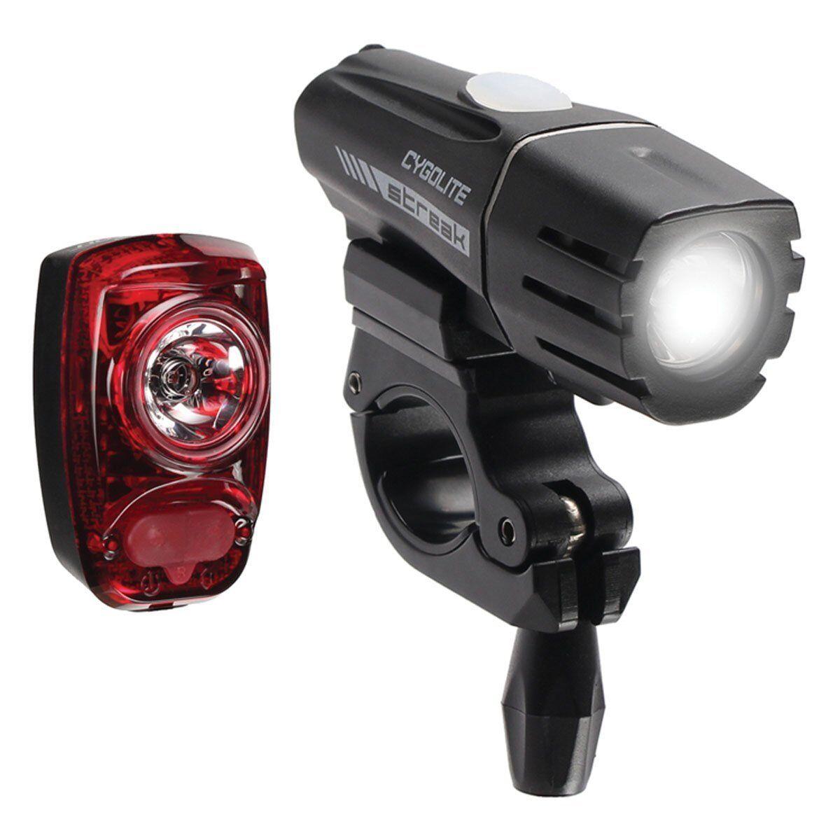 CYGOLITE  Streak 310 Headlight w  HOTSHOT SL Tail Light - NEW   combo kit  discount sale