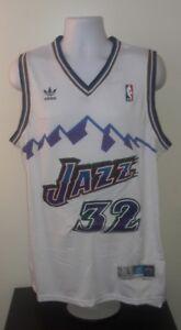 ed5438264e5 Image is loading Karl-Malone-Utah-Jazz-Adidas-Hardwood-Classics-Jersey-