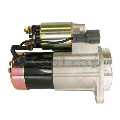 Starter Motor For 96-00 Pathfinder /& 97-00 Infiniti QX4 3.3L V6 3275cc