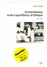 Introduction to the Legal History of Ethiopia: 1434-1974, , Jembere, Aberra, Ver