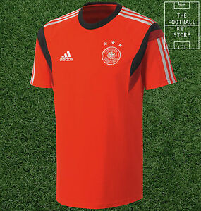 685d62345 Image is loading Germany-Training-Shirt-Official-Adidas-Training-Wear-Mens-