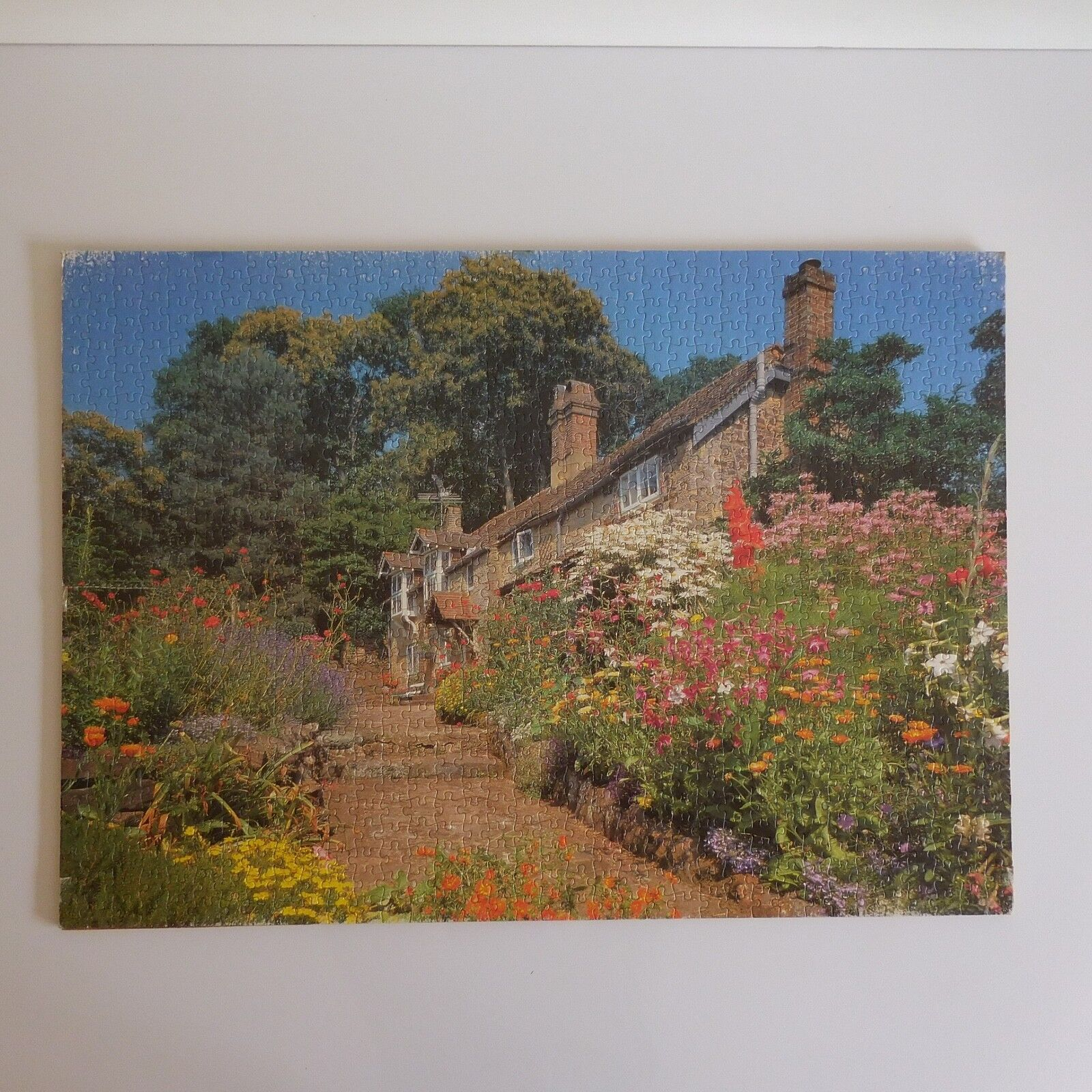 Puzzle Hogar Mano IN 1968 Mirecourt Barbilla Art Decoración Candelabros Pn