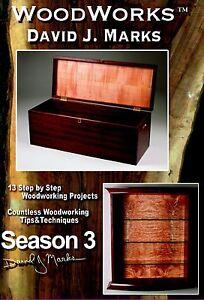Details About David J Marks Woodworks Season 3 Dvd Woodworking Furniture Instruction Diy Video