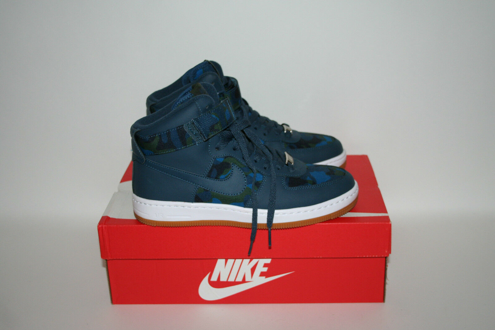 Nike WMNS AIR FORCE FORCE AIR 1 Ultra Force Mid stampa mimetico blu UK4.5/US7/EU38 807384-400 ea6163