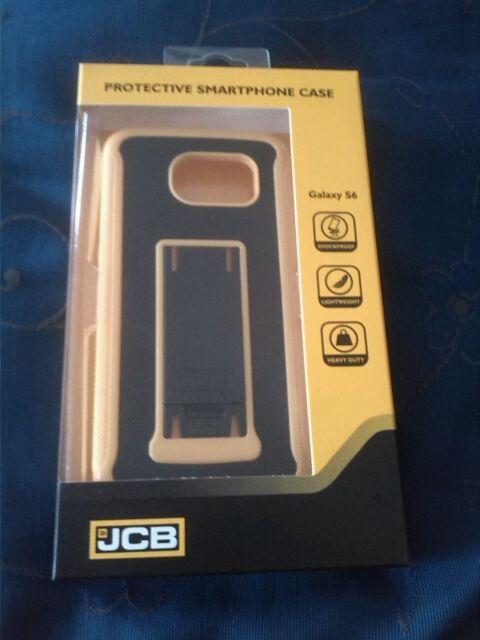 NEW GENUINE JCB PROTECTIVE RUGGED CASE JBCA-YEBL-GS6-0CW FOR SAMSUNG GALAXY S6