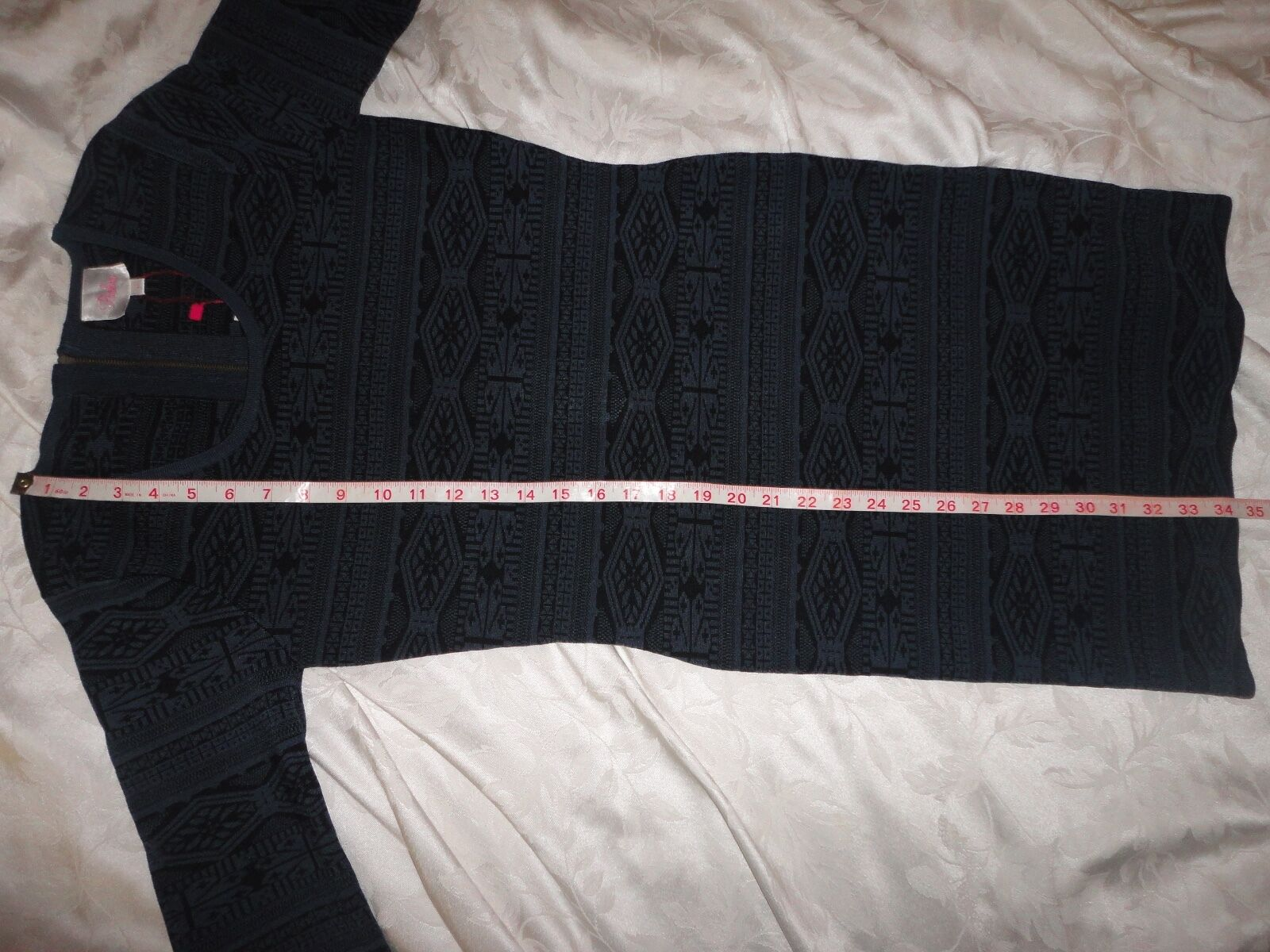 Parker KATRINA knit knit knit dress large L  352 new eclipse style PA08FA10 698027