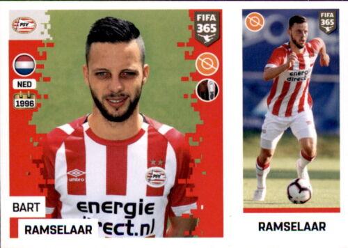Bart Ramselaar Sticker 263 a//b PSV Eindhoven Panini FIFA365 2019