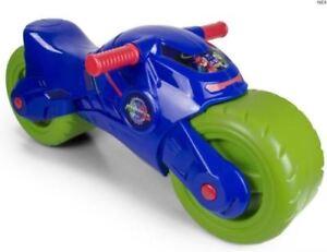Boys-Ride-On-Kids-PJ-MASK-Toy-Bike-Moto-Light-Push-Along-2-Wheels-NEW-TRAGER-3