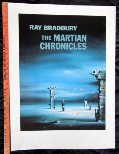 From Ray Bradbury Estate Martian Chronicles Robert Watson Artist Proof