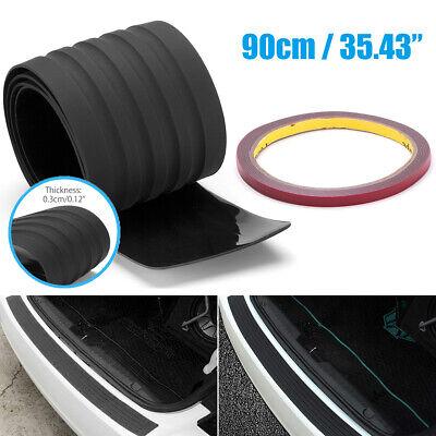 Car Rear Bumper Sill//Protector Plate Rubber Cover Guard Pad Moulding Trim HQ