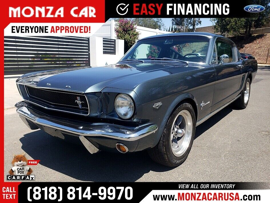 1965 Ford Ford Mustang fast back Hipo  K-code
