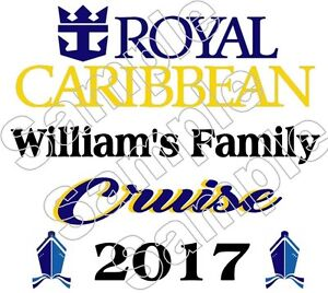 Image Is Loading Personalized Royal Caribbean Cruise Vacation Iron On T