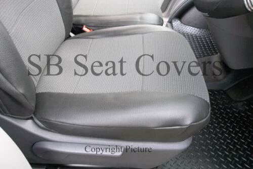 VW TRANSPORTER T5 VAN SEAT COVERS LEATHERETTE TRIM MADE TO MEASURE