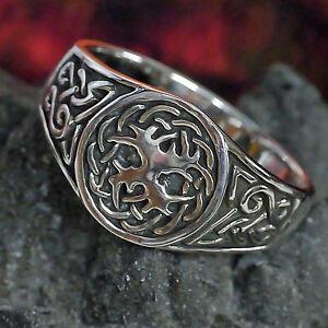 massiv-Silberring-Yggdrasil-Lebensbaum-Weltenbaum-Ring-925-keltik-wicca-Druiden