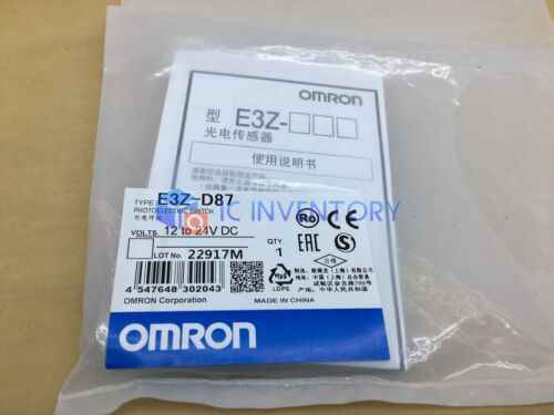 1PCS Brand NEW Omron Photoelectric Switch E3Z-D87
