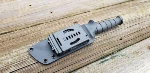 Custom Kydex taco sheath for KA-BAR SHORT TANTO /& D.O.T.S BELT ATTACHMENT