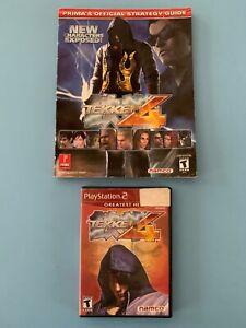 Tekken 4 Ps2 Strategy Guide Bagged Boarded Namco Ebay