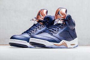 35a37dd6a4a Nike Air Jordan 5 V Retro Obsidian Olympic Bronze Size 11. 136027 ...