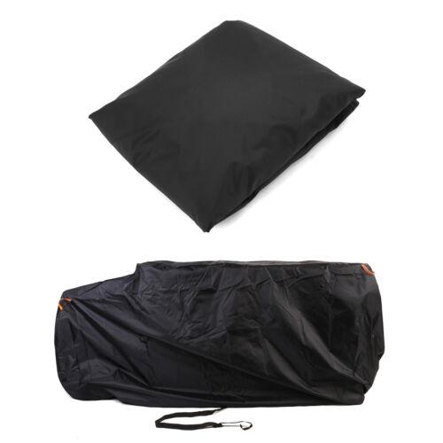 Waterproof Full ATV Cover 4x4 Storage Black For Polaris Sportsman 550 EFI XP 570