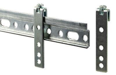 2x Schrankaufhänger 100mm Montageschiene Aufhängeschiene Hängeschrank