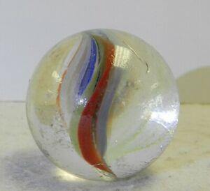 #12120m Vintage Foreign Sparkler Shooter Marble 1.12 Inches
