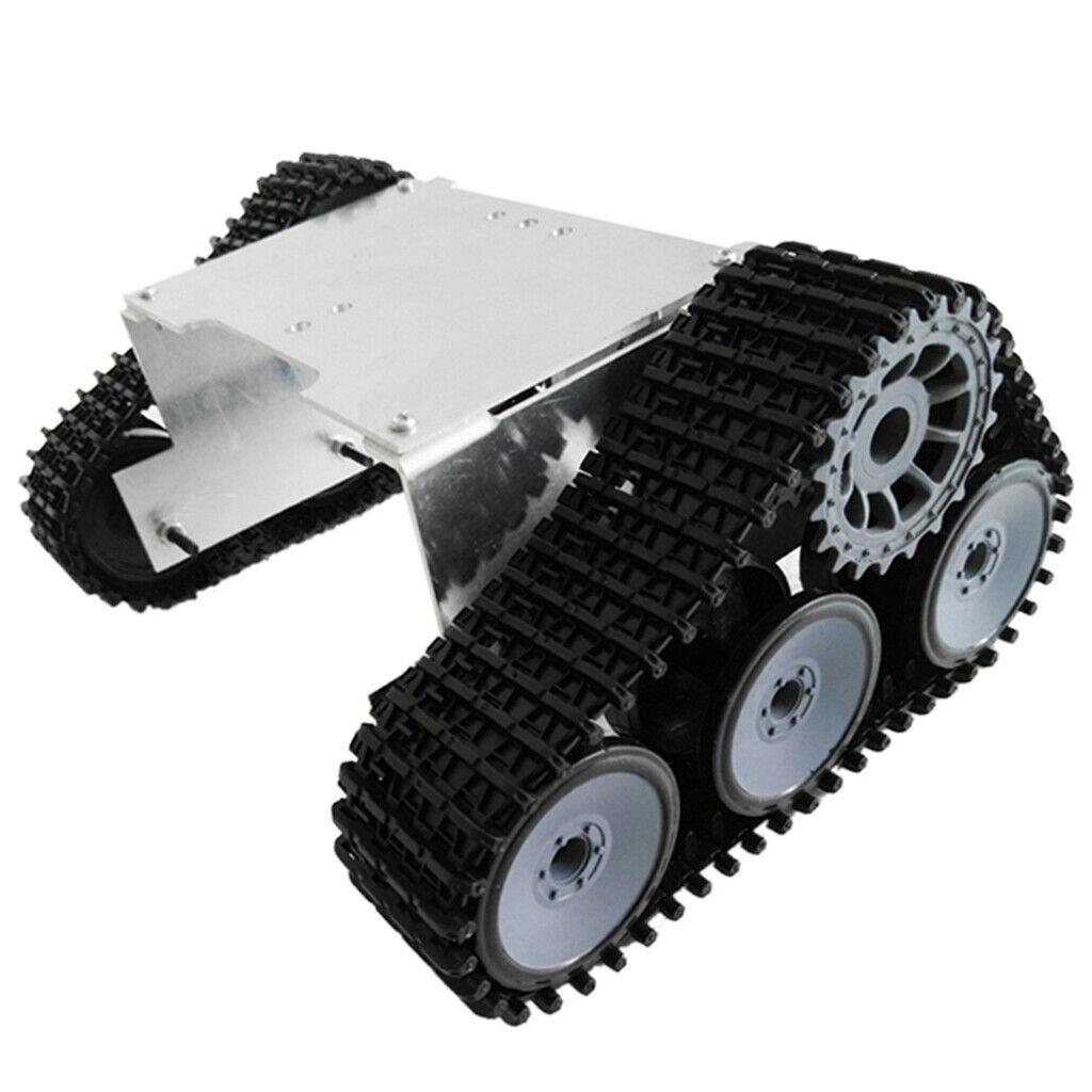 Chassis de char de robot sur chenilles tout-terrain de véhicule sur
