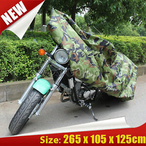 Motorcycle Cover Waterproof Outdoor Rain Dust UV Scooter Motorbike Protector GL
