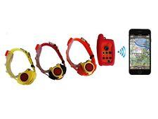 Collar de perro de localizador Remoto con seguimiento GPS para 3 perros
