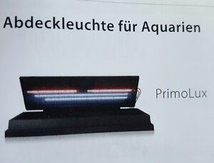 Juwel Ersatz Aquarienabdeckung PRIMO LUX LED, für 60cm u. 80cm Aquarien,Ganzglas