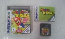 Mario Tennis Game Boy Color Complete Version Boxed