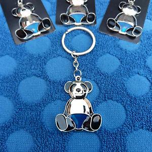 Panda-Keyring-Metal-Key-Chain-Charm-Keychain-Key-RingPendant-House-Gym-Car-Keys