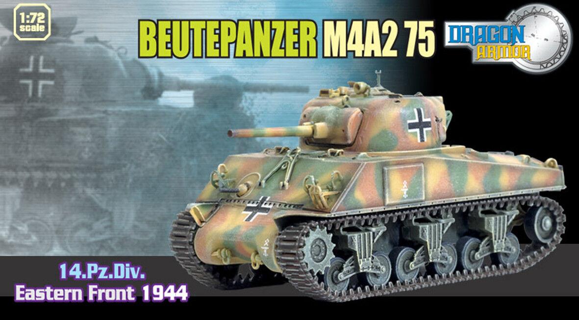 Dragon armor 1 72,     Rare    Beutepanzer M4A2 75, Art.  60403
