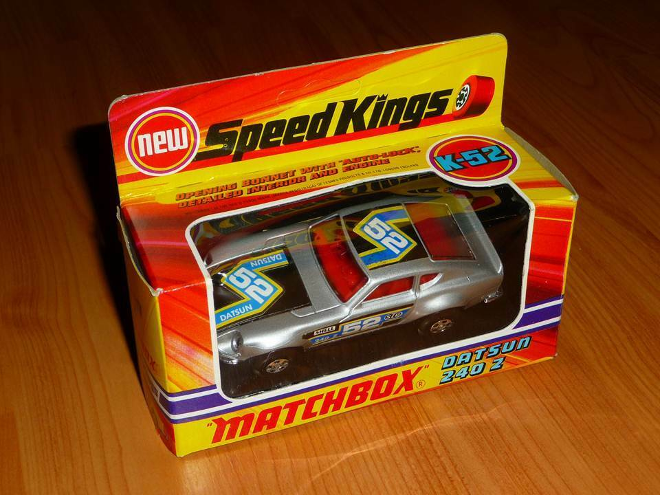 MATCHBOX SUPERKINGS K-52 DATSUN 240Z MIT OVP