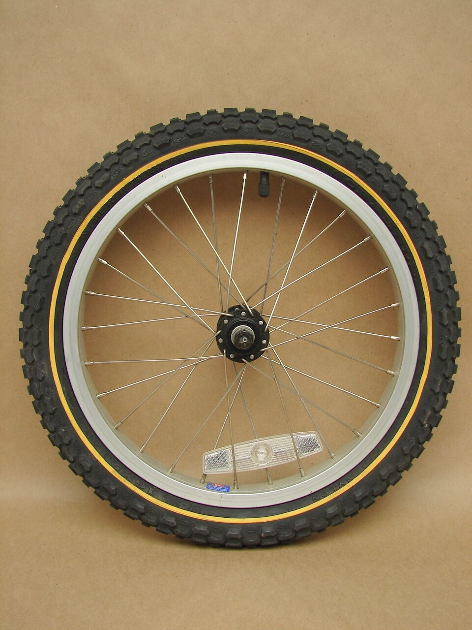 Vtg NOS Burley Bicycle Jogger Replacement Wheel Alloy Rim Scrambler 16 x 2.125